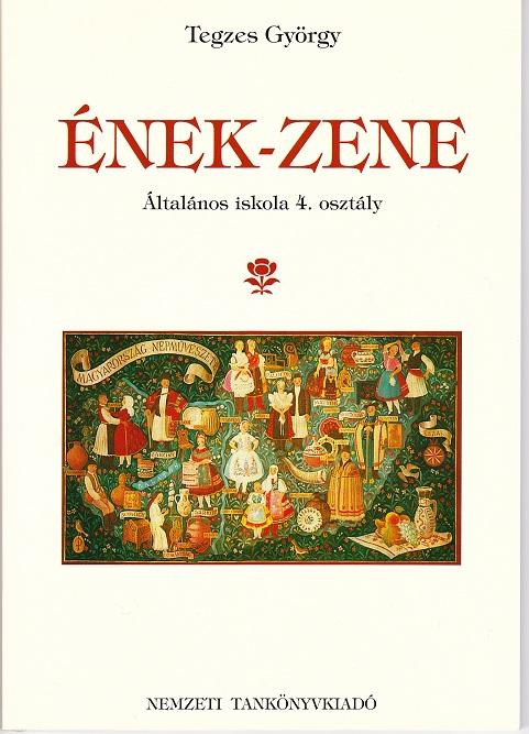 ハンガリーEnek-zene 4年生用音楽の教科書