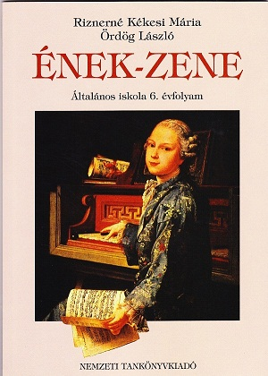 ハンガリーEnek-zene 6年生用音楽の教科書