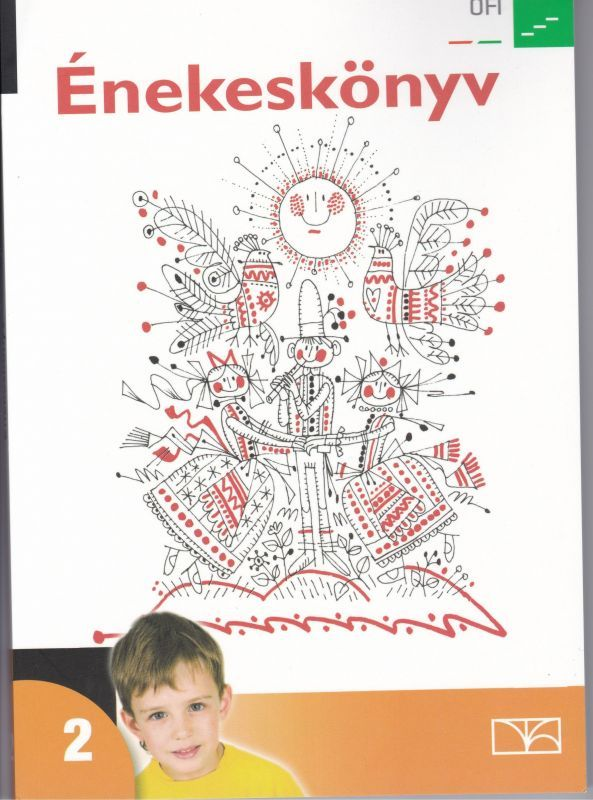ハンガリー 2年生用音楽の教科書
